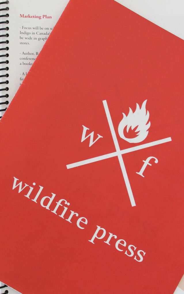 Wildfire Press project materials – cover
