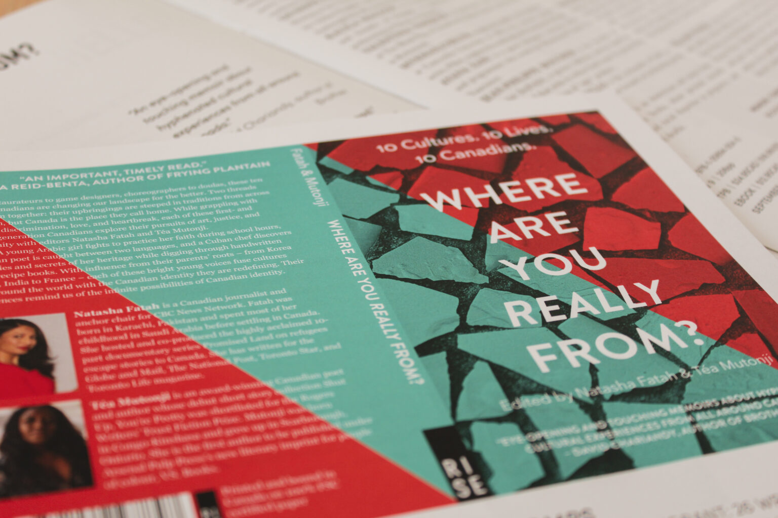 RISE project materials – Where Are You Really From cover