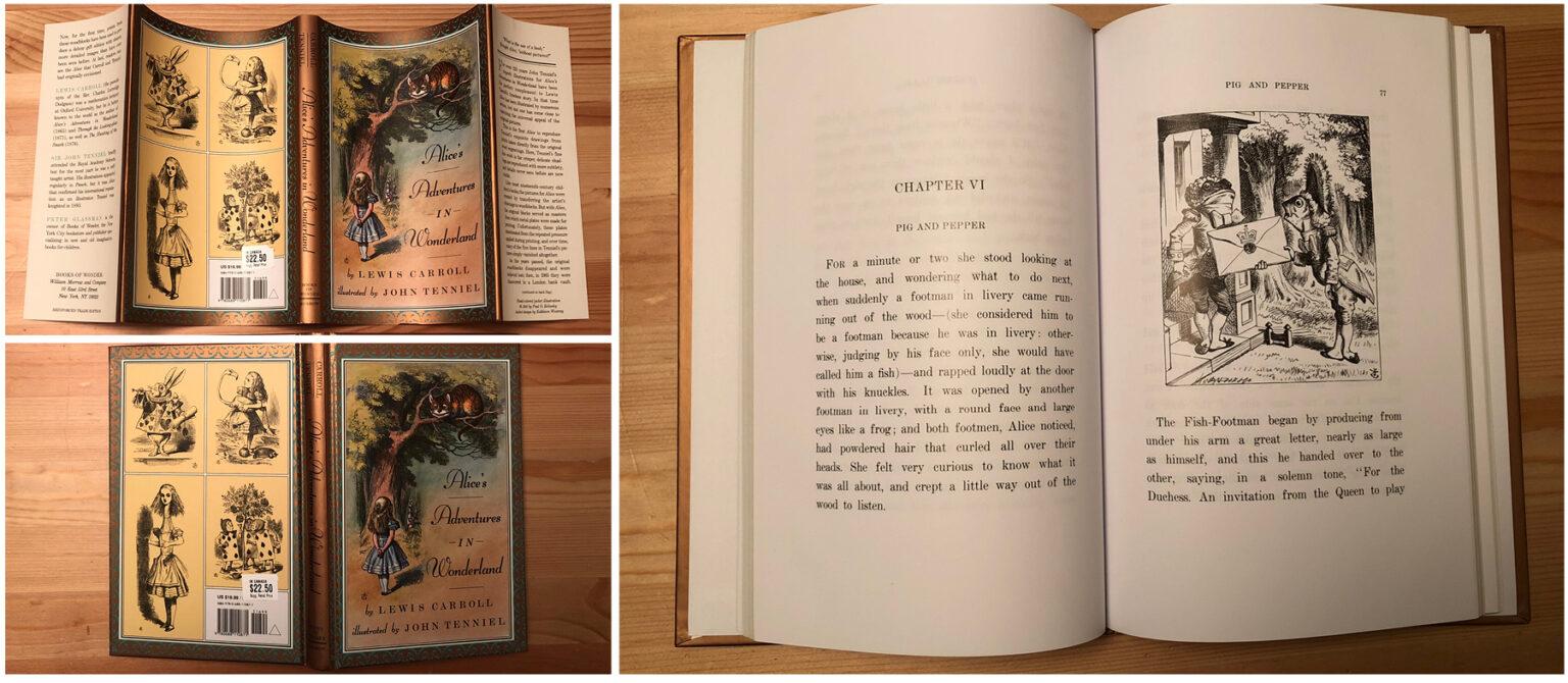 Alice's Adventures in Wonderland – Books of Wonder edition