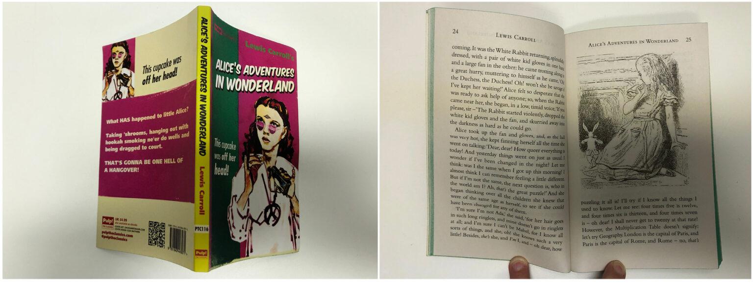 Alice's Adventures in Wonderland – Pulp! The Classics edition