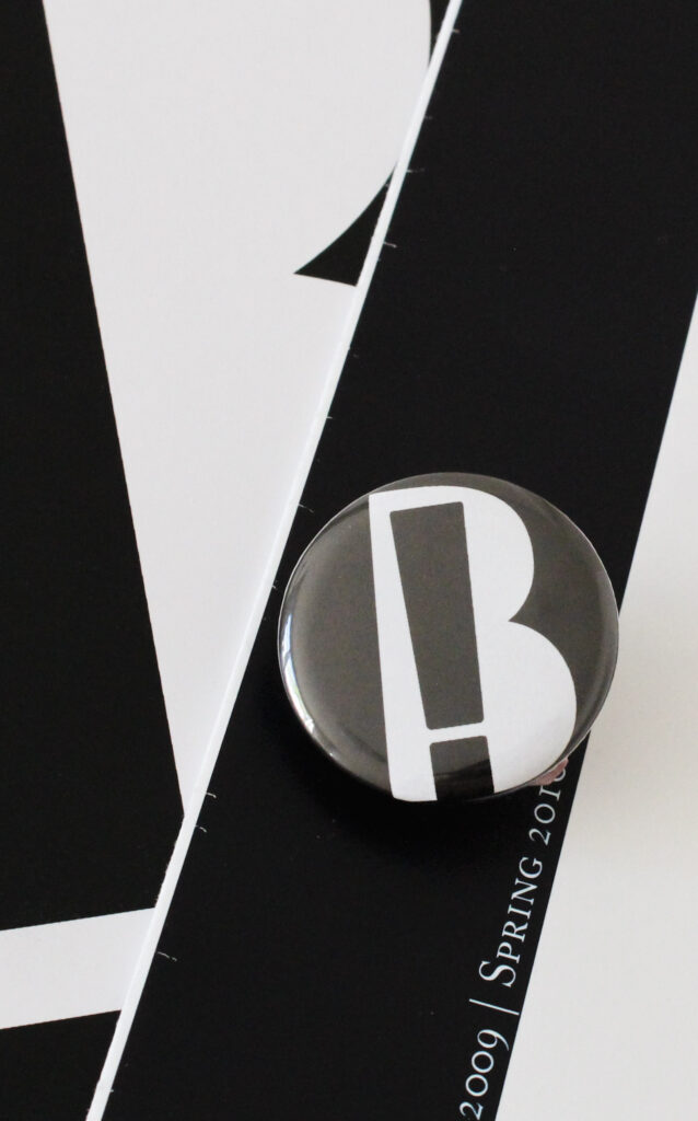 Bang On! Books project materials – button