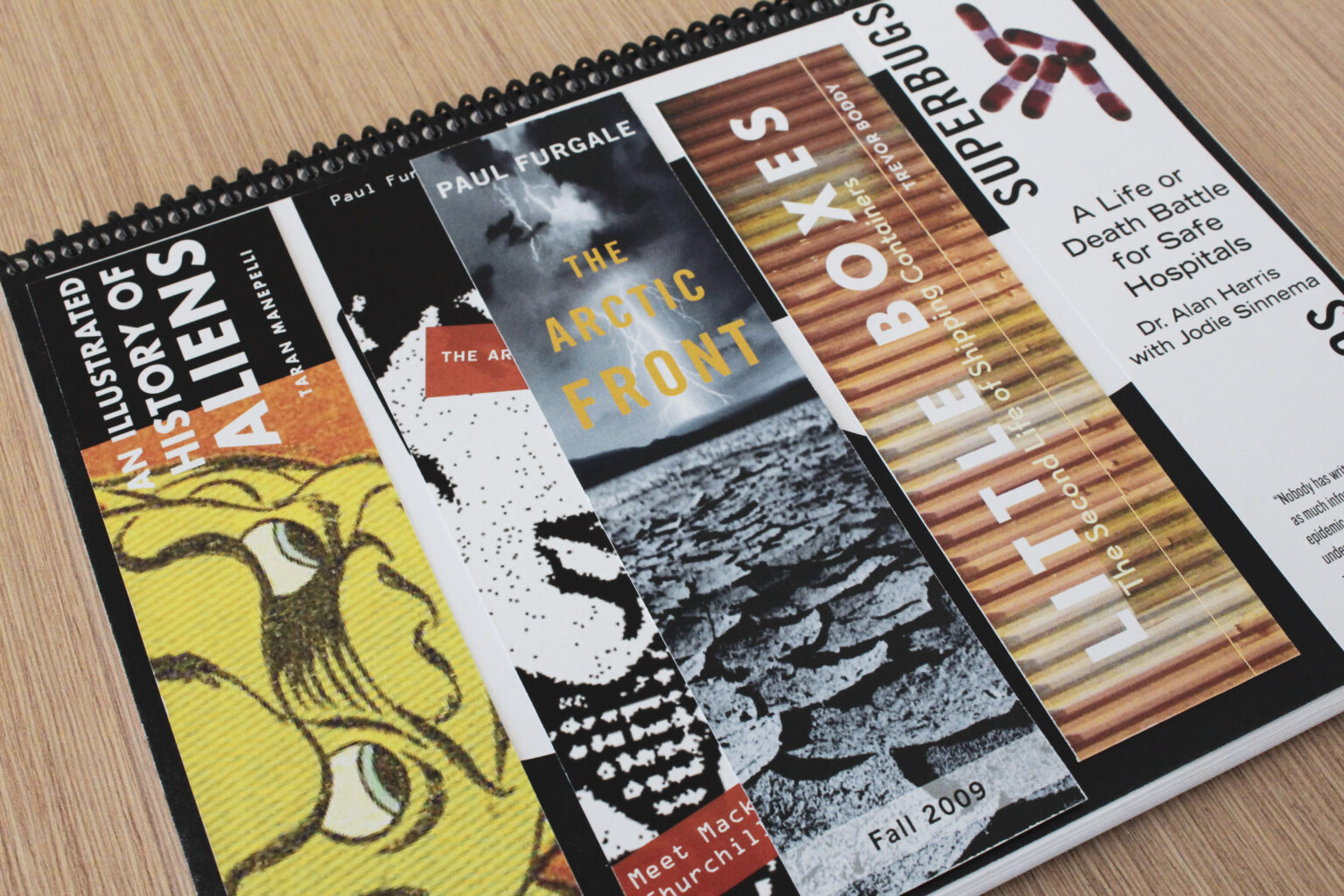 Bang On! Books project materials – promotional bookmarks