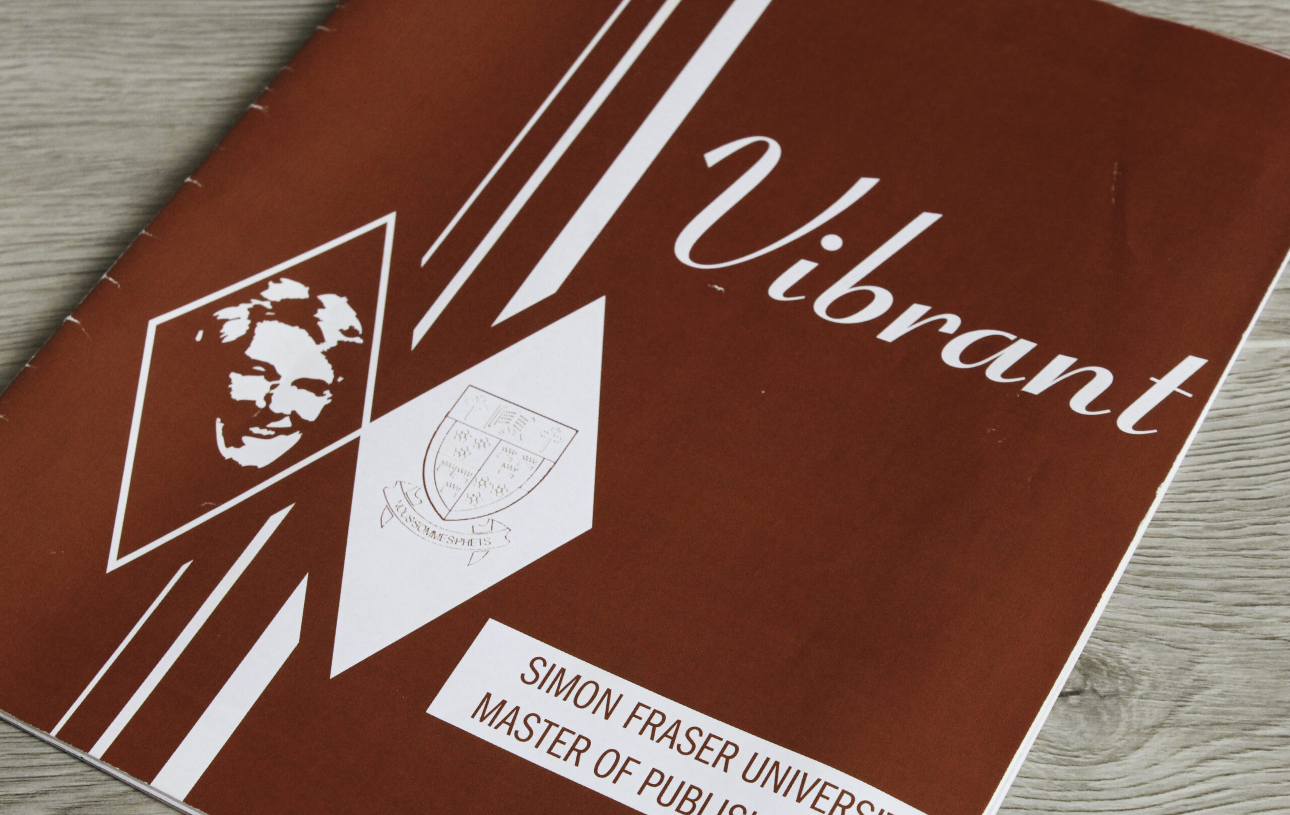 Cover of Vibrant – A student magazine developed by the 2004/05 cohort